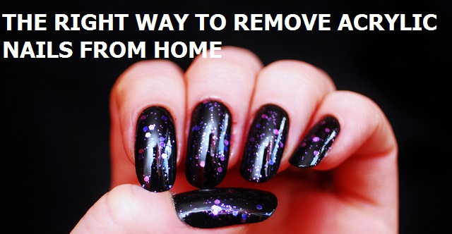 How to remove acrylic nails at home the right way for Acrylic nail removal salon