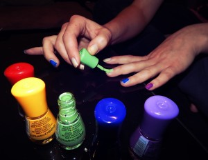 perfectly paint nails