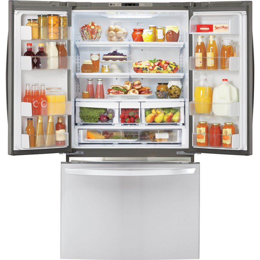 French Door lg 30 french door refrigerator pictures : 5 Best Refrigerator For Peace of Mind - A REVIEW - Designs Authority