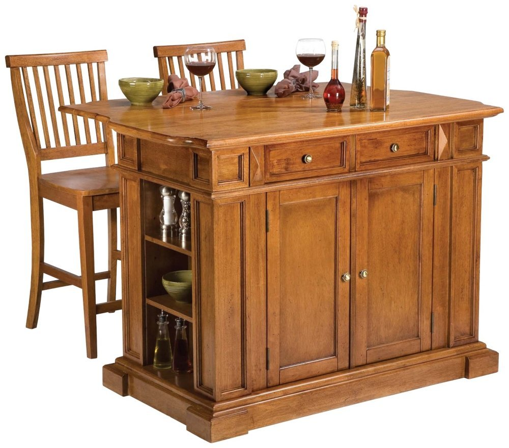 Small Kitchen Island With Seating: SNEAK PEAK: 5 Best Portable Kitchen Island With Seating
