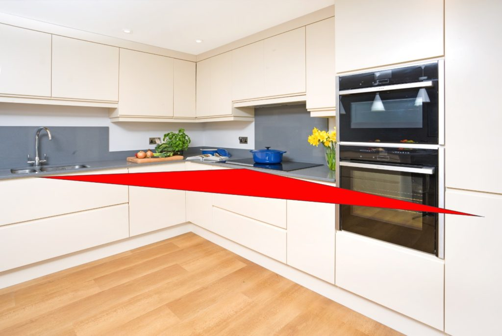 Kitchen Triangle magic kitchen triangle in kitchen design - designs authority
