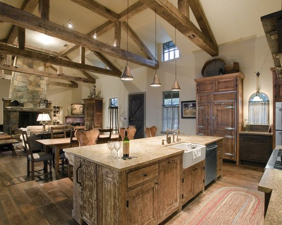 beautiful-old-world-country-traditional-Kitchen