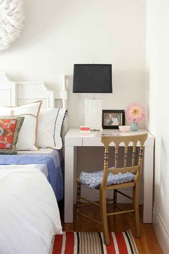 small bedroom space desk