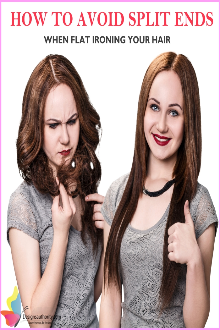 Split Ends Repair – How To Prevent Split Ends When Flat-Ironing Your Hair