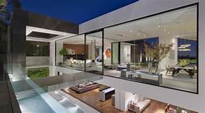 glass house view