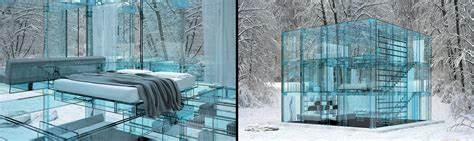 glass house layout