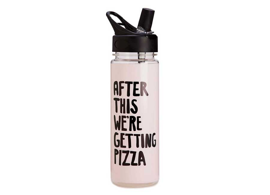 Water Bottle with a quote