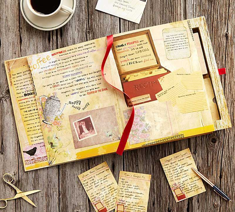 mother and daughter letter book set