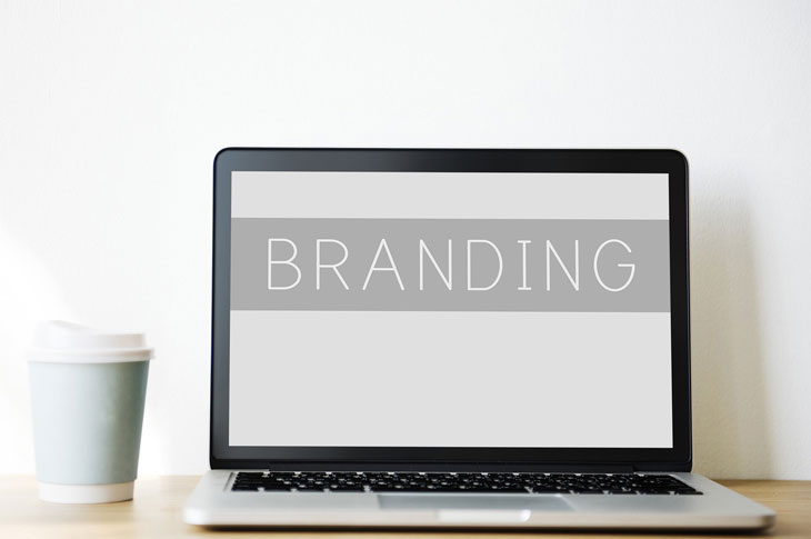 Branding of the site that will creating a mock up site